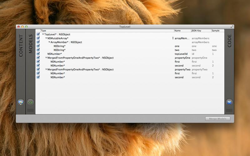 Objectify screenshot