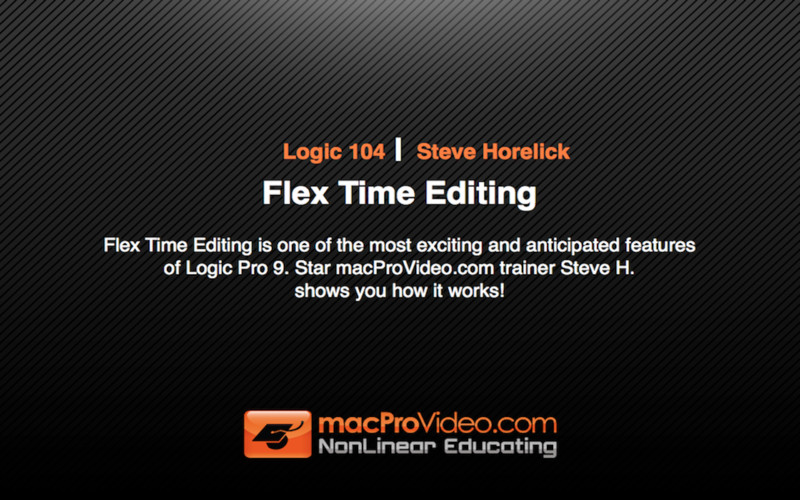 Course For Logic Flex Time Editing screenshot