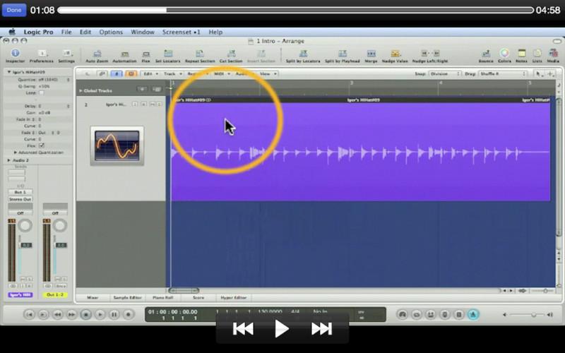 Course For Logic Flex Time Editing screenshot
