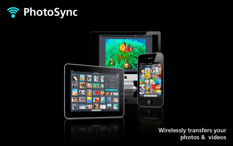 PhotoSync - wirelessly transfers your photos an... screenshot