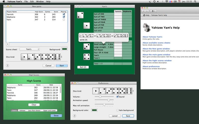 Yahtzee Yam's screenshot