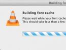 Building Font Cache