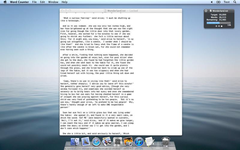 Word Counter screenshot