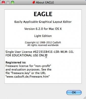 Download free EAGLE for macOS