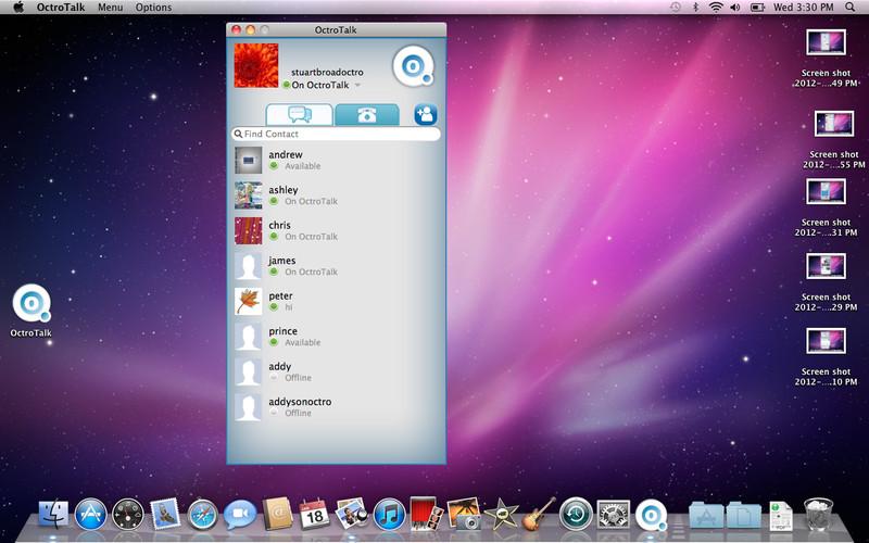 OctroTalk screenshot