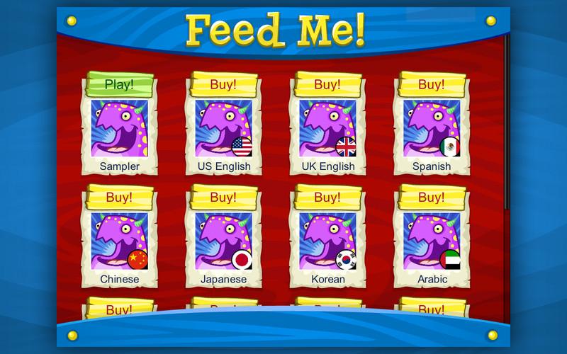 Feed Me PencilBot Preschool Learning Center screenshot