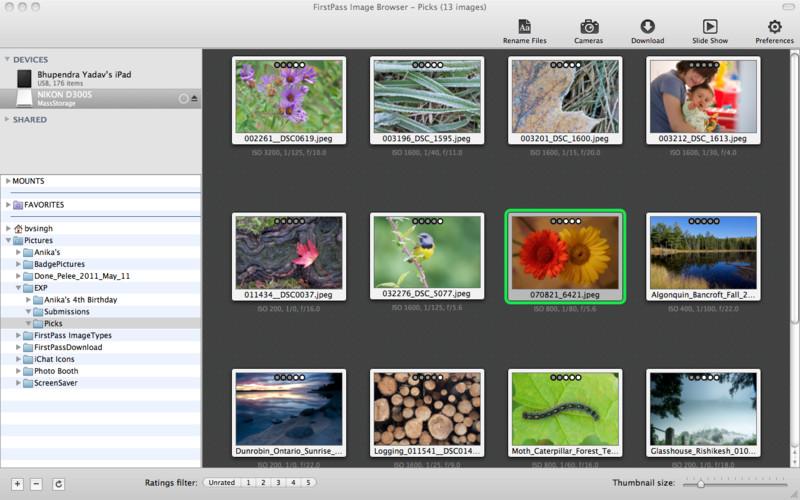 FirstPass Image Downloader and Browser screenshot