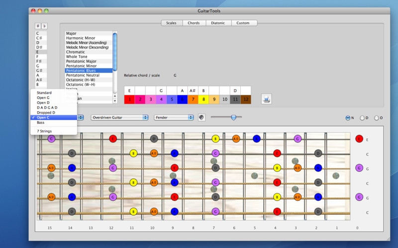 GuitarTools screenshot