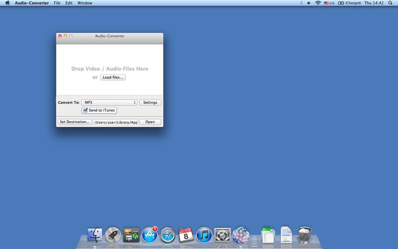 Audio-Converter screenshot