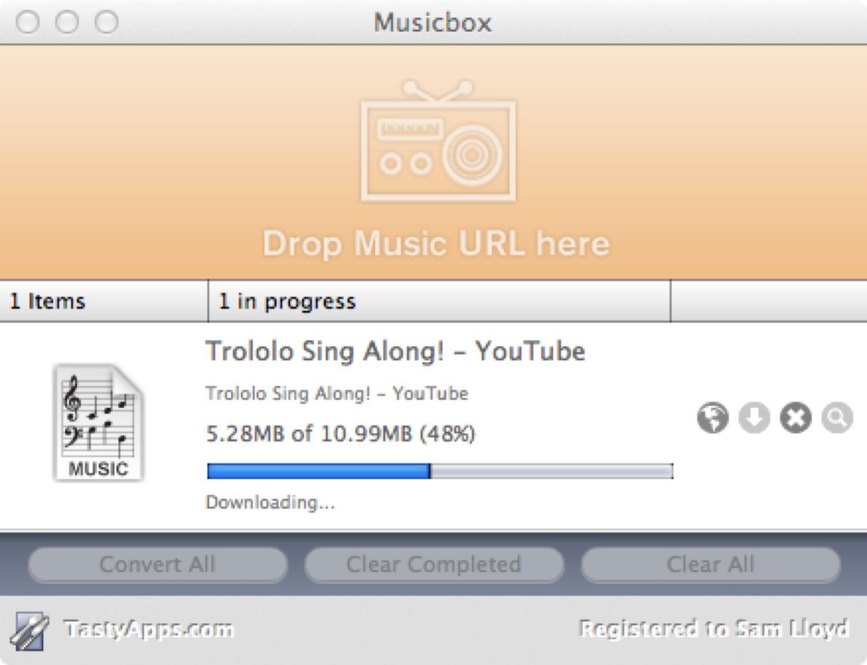 Downloading Audio
