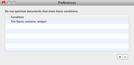 Program Preferences