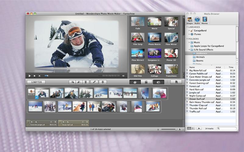Photo Movie Maker - Fantashow screenshot
