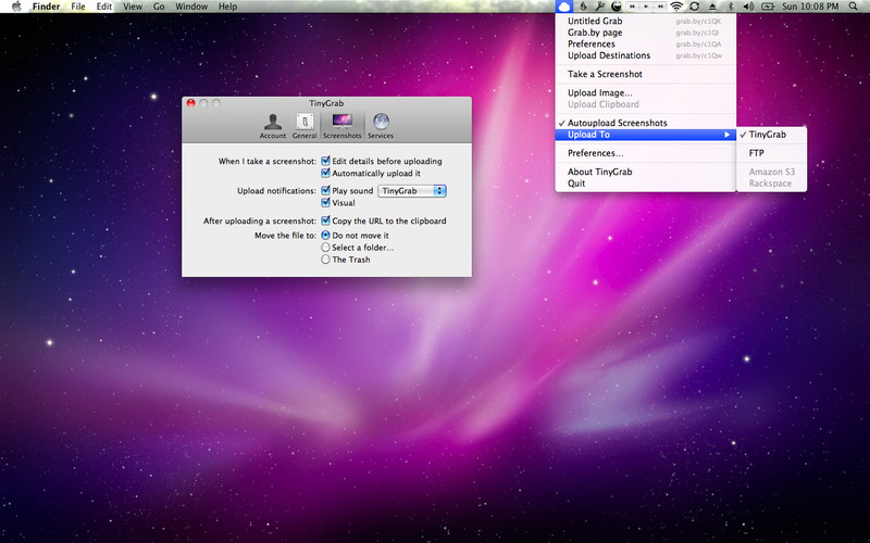 TinyGrab screenshot