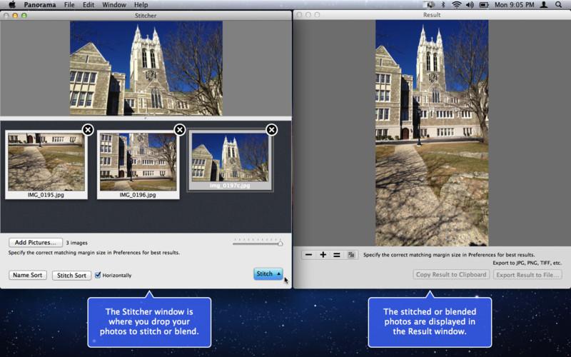 Panorama screenshot