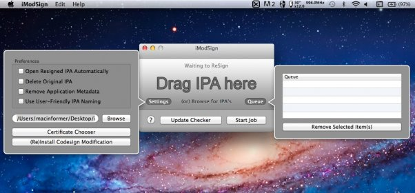 Download free iModSign for macOS
