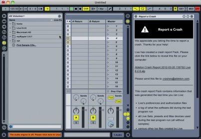 Description of Ableton Live 8.2.5