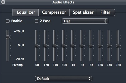 Configuring Audio Settings