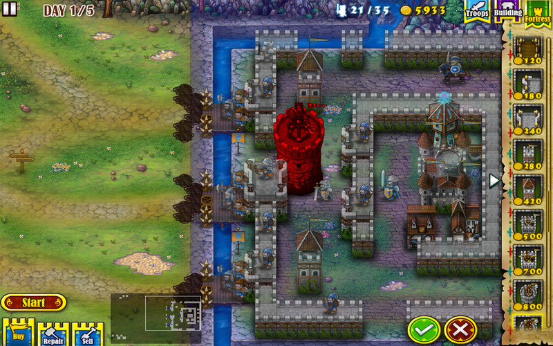 Fortress Under Siege screenshot