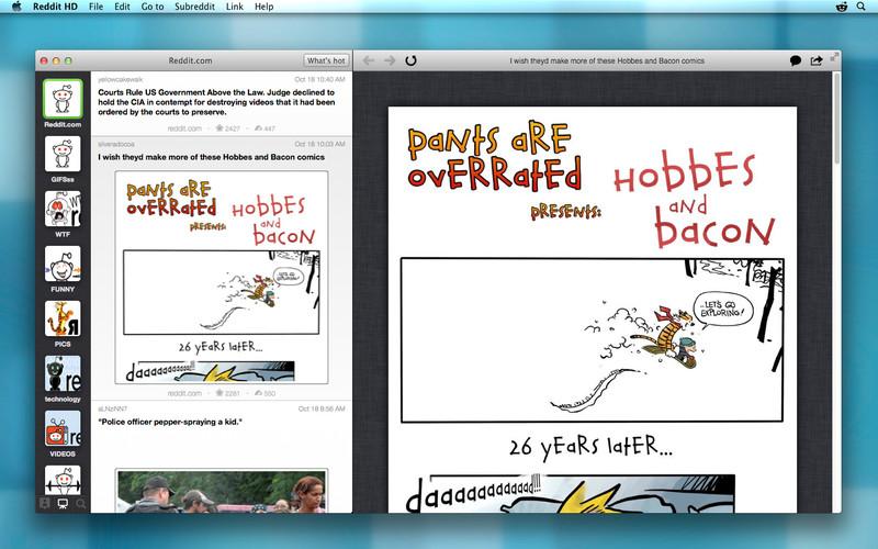 Reddit HD screenshot