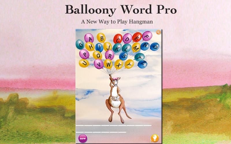Balloony Word Pro screenshot