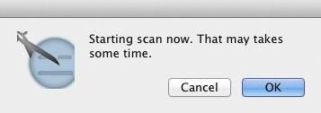 Starting scan