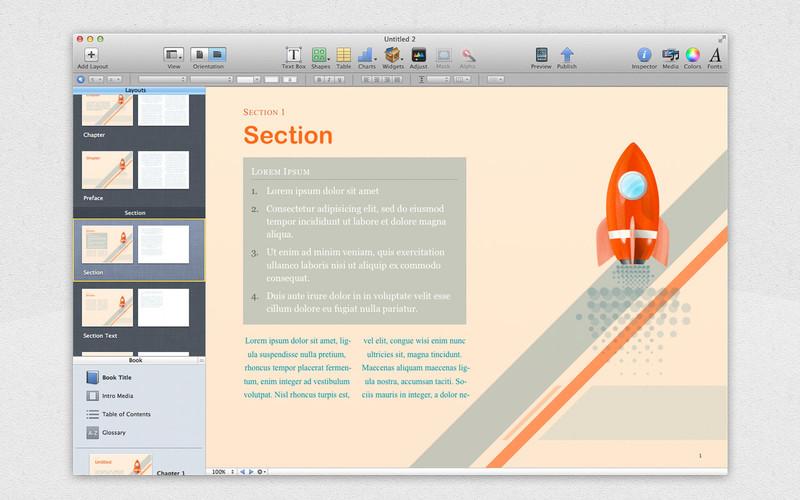 Templates for iBooks Author Free screenshot