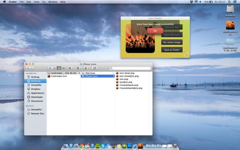 Icon Creator screenshot
