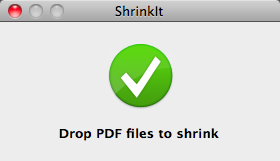Drop Zone While Processing PDFs
