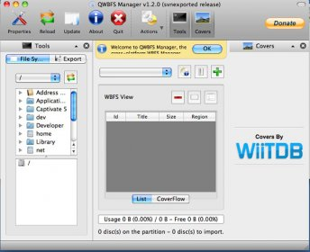 Download free QWBFSManager for macOS