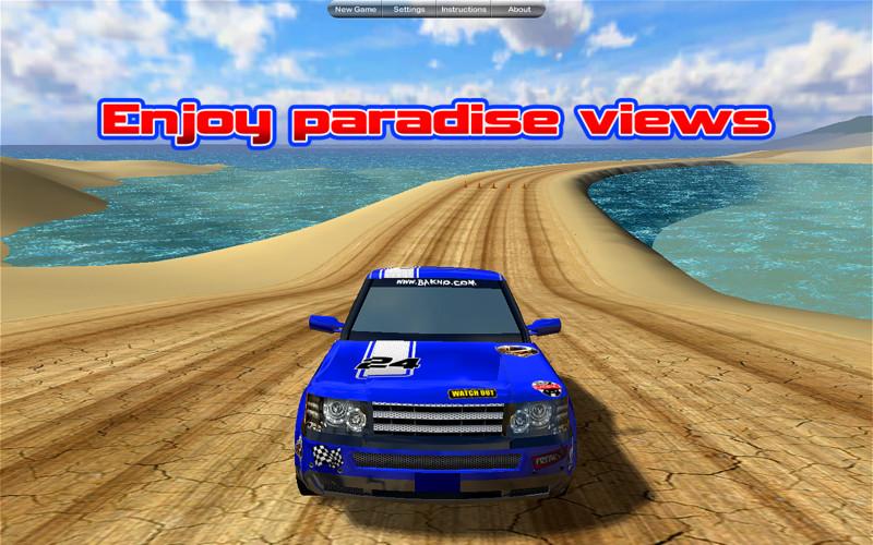 Island Racer Lite screenshot