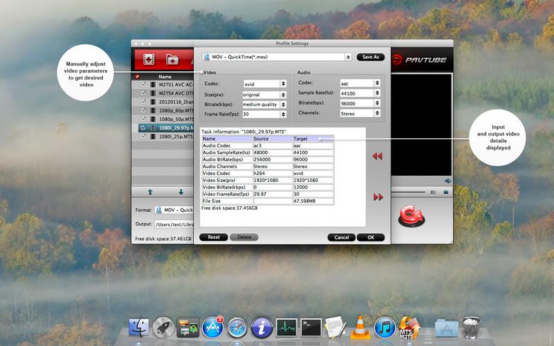 Free MTS M2TS Converter screenshot