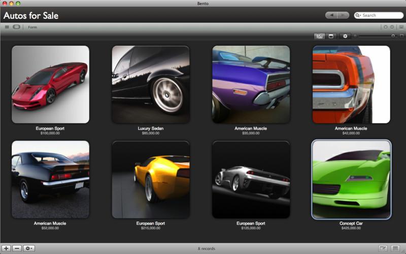 Bento - Personal Database screenshot