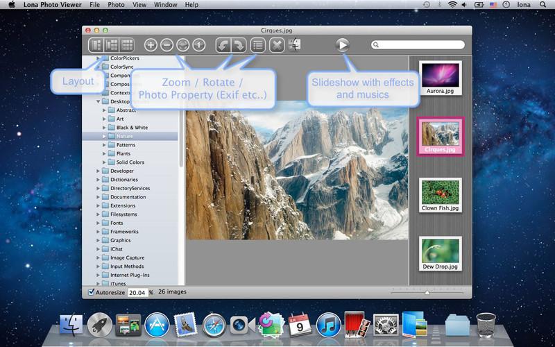 Lona Photo Viewer screenshot