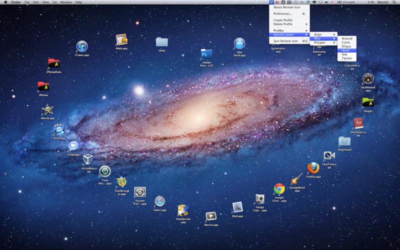 Restore Icon screenshot