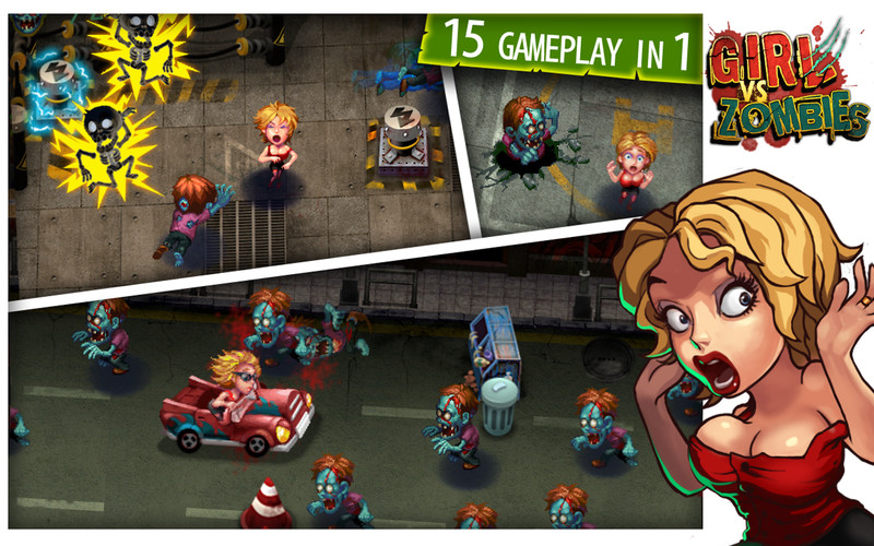 Girl vs Zombies screenshot
