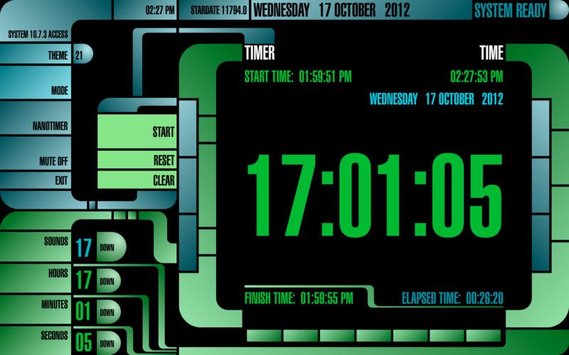 TimerTrek screenshot