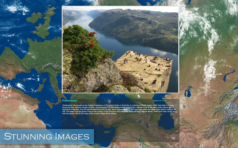 Amazing Earth 3D: 400 Most Beautiful Places screenshot