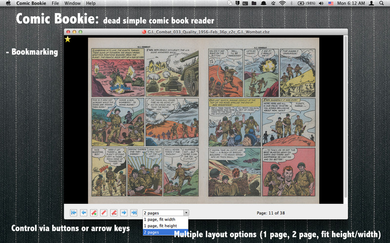 Comic Bookie screenshot