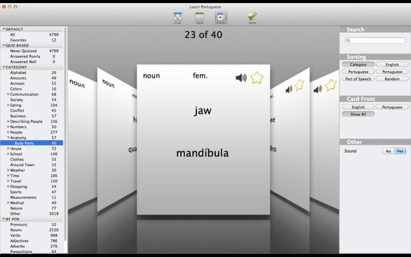 Learn Portuguese Quick screenshot