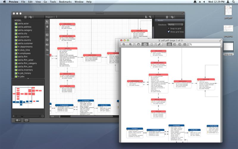 Navicat Data Modeler screenshot
