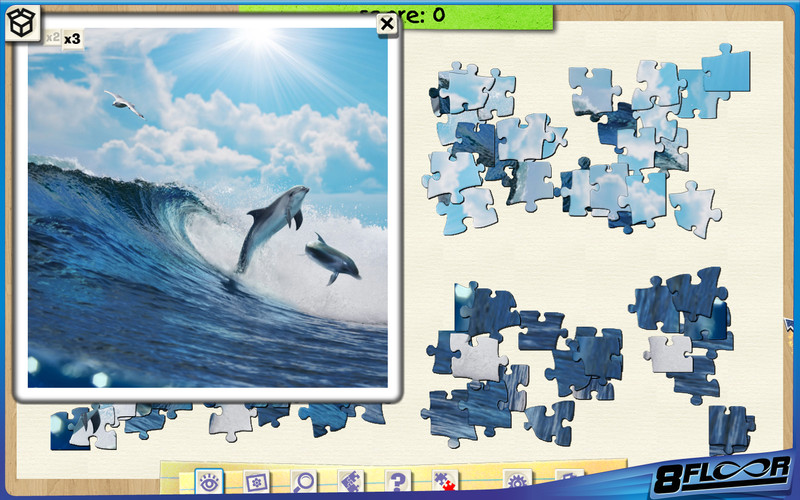 Jigsaw Boom screenshot