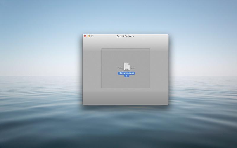 Secret Delivery screenshot