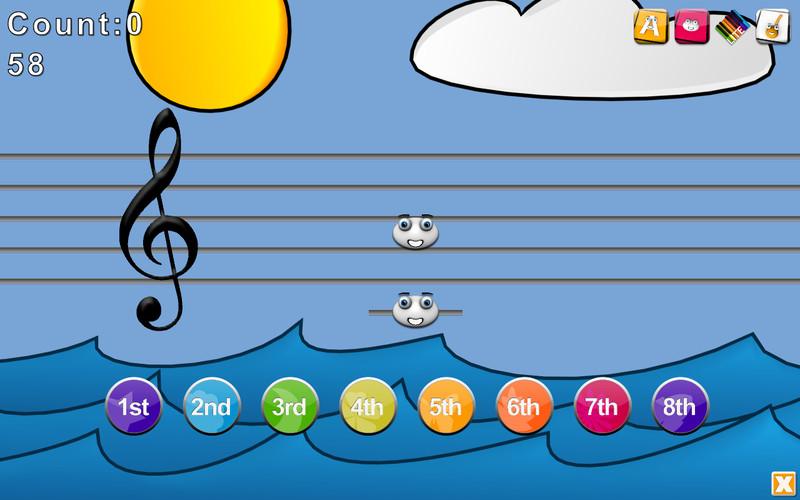 Music Intervals screenshot