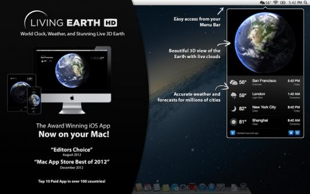 Download free Living Earth HD - Desktop Weather &