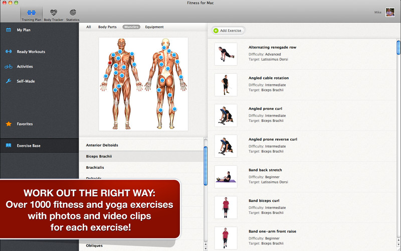 All-in Fitness screenshot