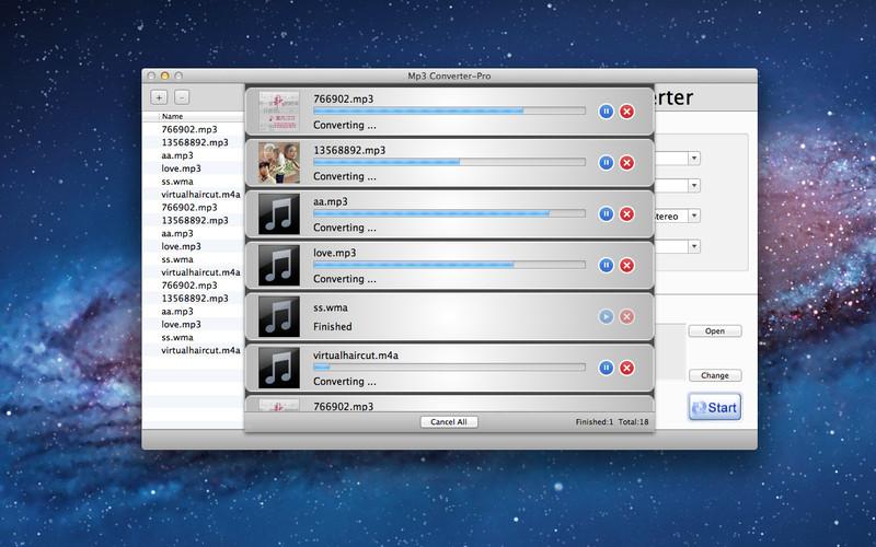 Mp3 Converter-Pro screenshot