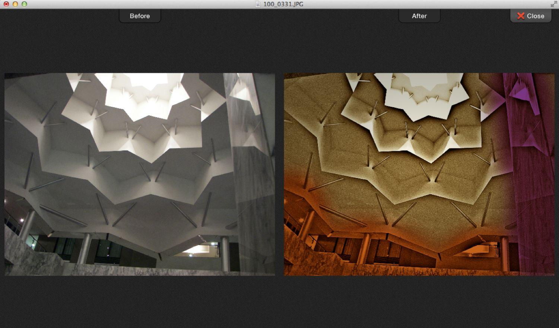 Comparison Interface