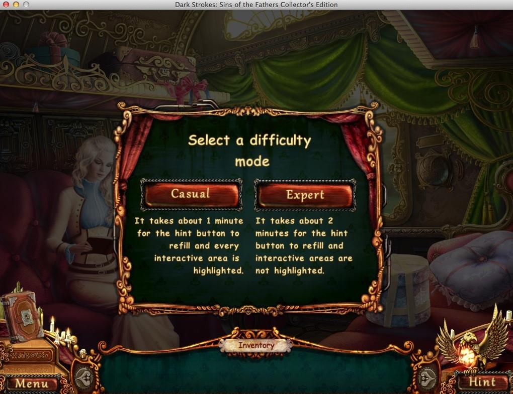 Selecting Game Mode