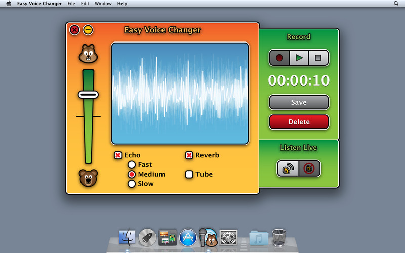 Easy Voice Changer screenshot