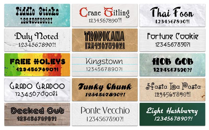 Font Kit Mix screenshot